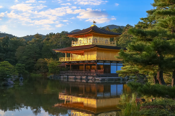 Kinkaku-ji Temple the Golden Pavilion